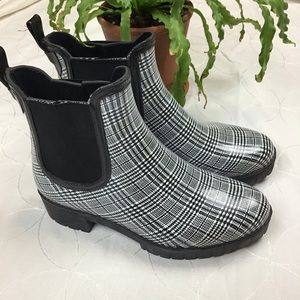 Jeffery Campbell Cloudy Plain Rain Boot 8